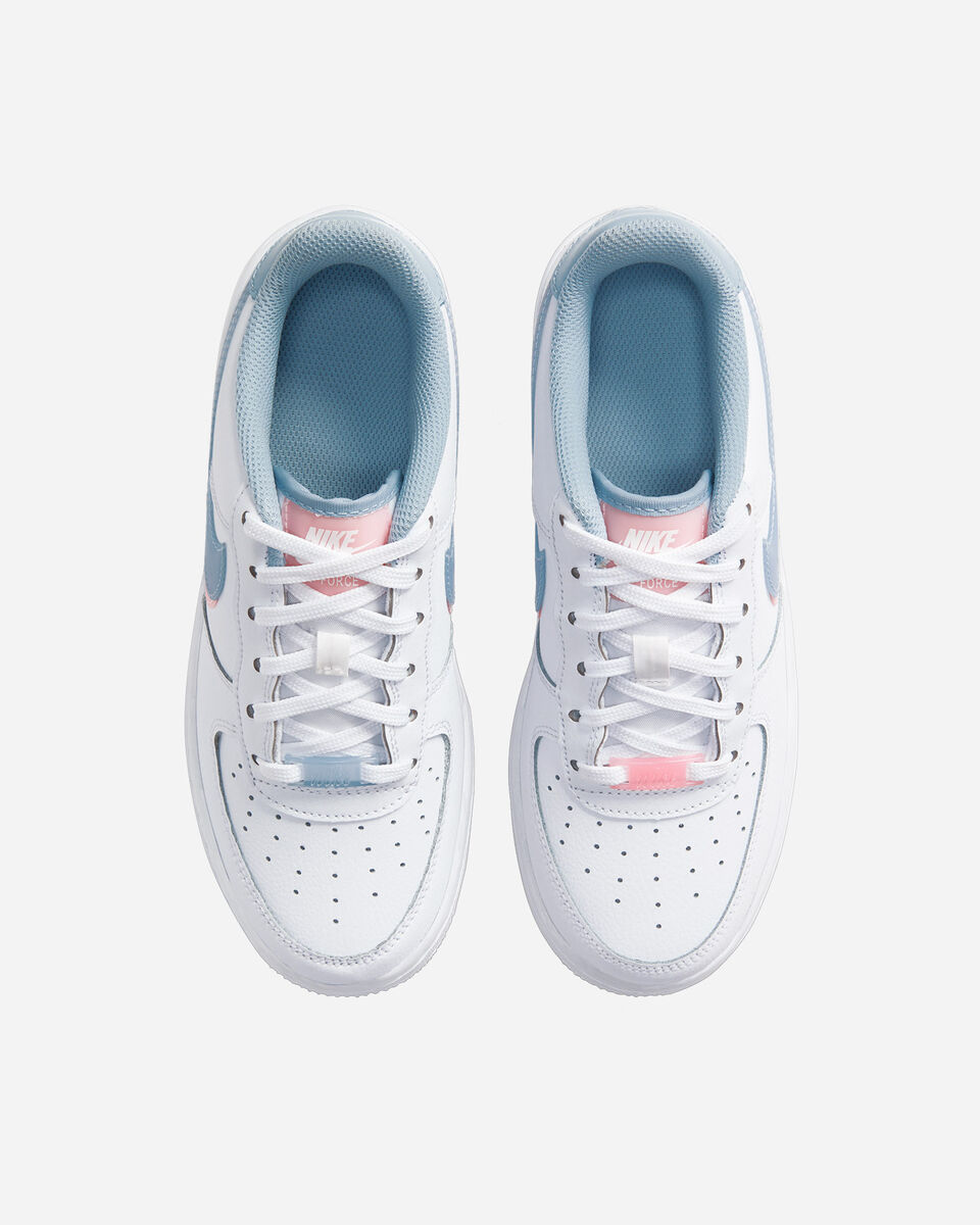 Scarpe sneakers NIKE AIR FORCE 1 LV8 GS JR S5270552 scatto 3
