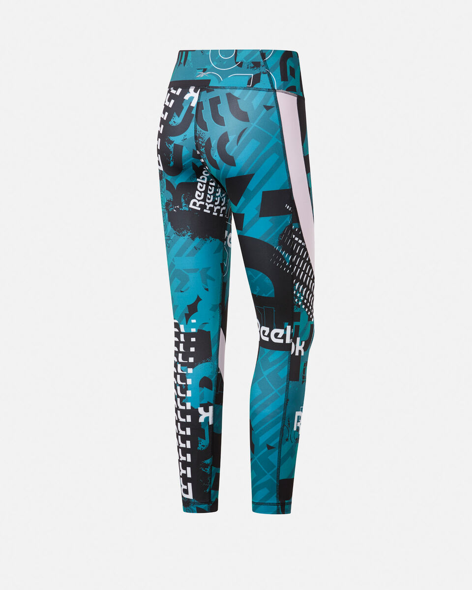Leggings REEBOK MEET YOU THERE ALLOVER PRINT 7/8 W S5144857 scatto 1