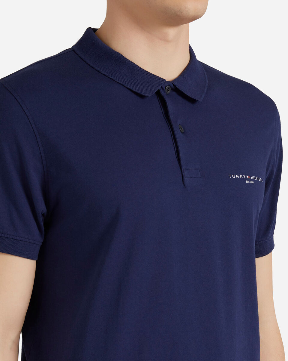 T-Shirt TOMMY HILFIGER CLEAN SLIM M S4089536 scatto 4