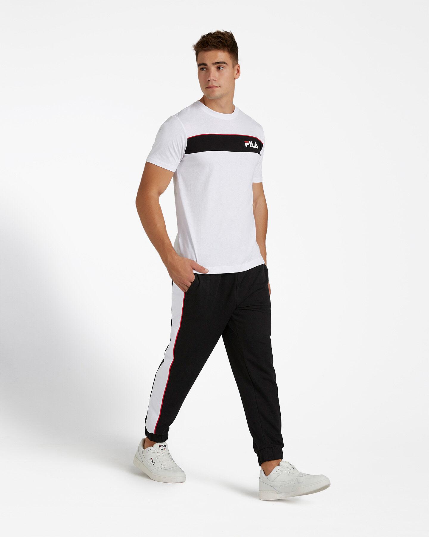 T-Shirt FILA SM LOGO M S4080445 scatto 3
