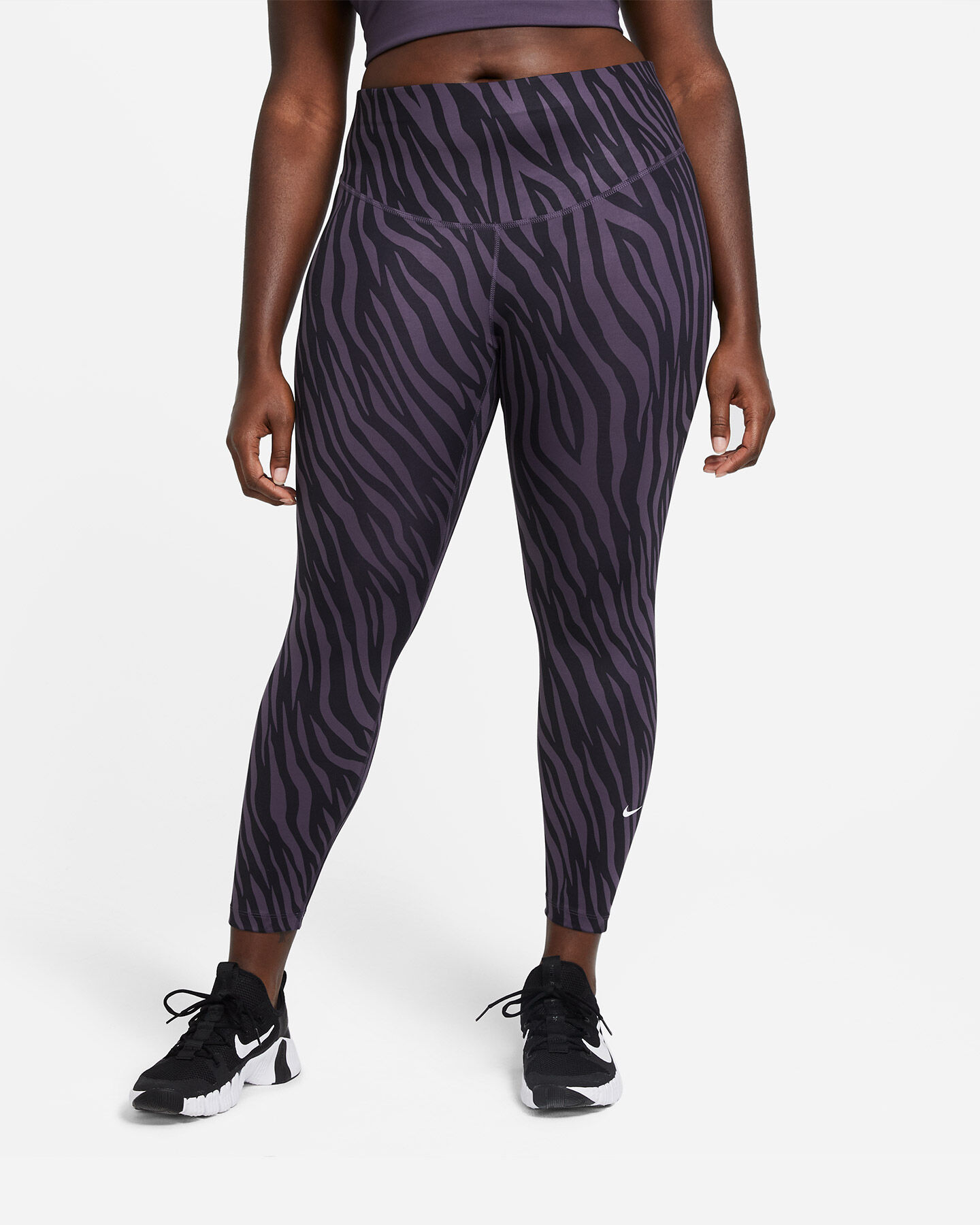 Leggings NIKE POLY ONE AOP 7/8 W S5267770 scatto 0
