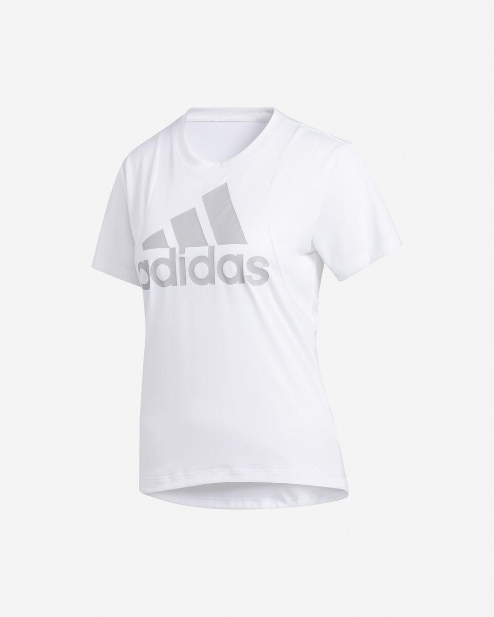 T-Shirt training ADIDAS BIG LOGO W S5216580 scatto 0