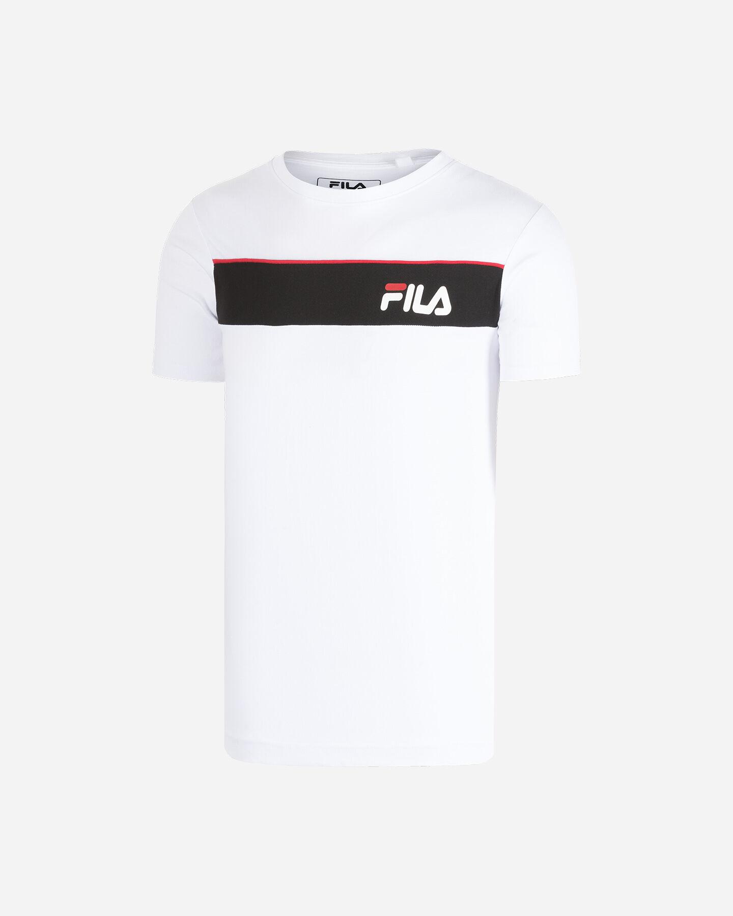 T-Shirt FILA SM LOGO M S4080445 scatto 5