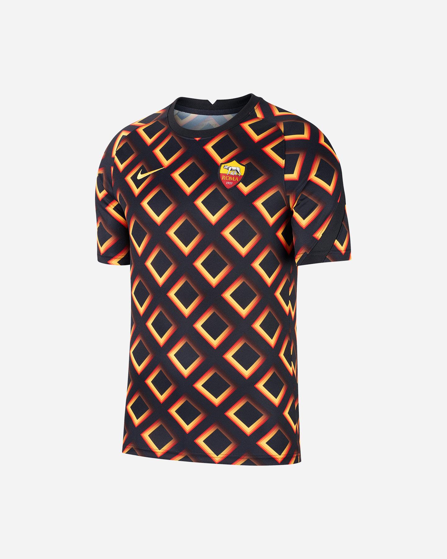 Abbigliamento calcio NIKE AS ROMA PREMATCH 20-21 M S5195542 scatto 0