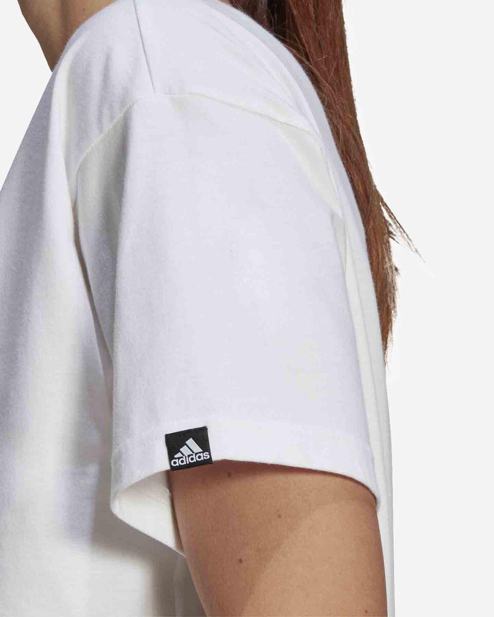 T-Shirt ADIDAS VALENTINE W S5274725 scatto 4