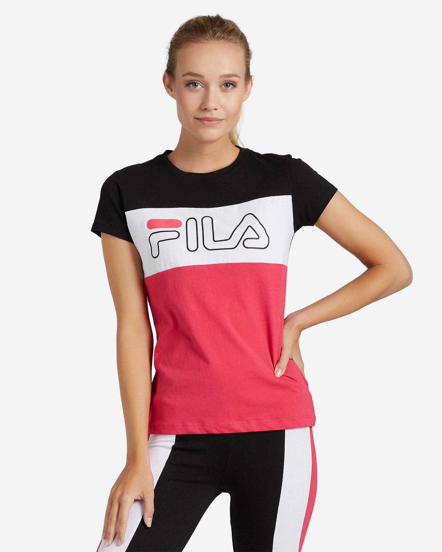 T-Shirt FILA REGULAR COLOR BLOCK W S4080534 scatto 0