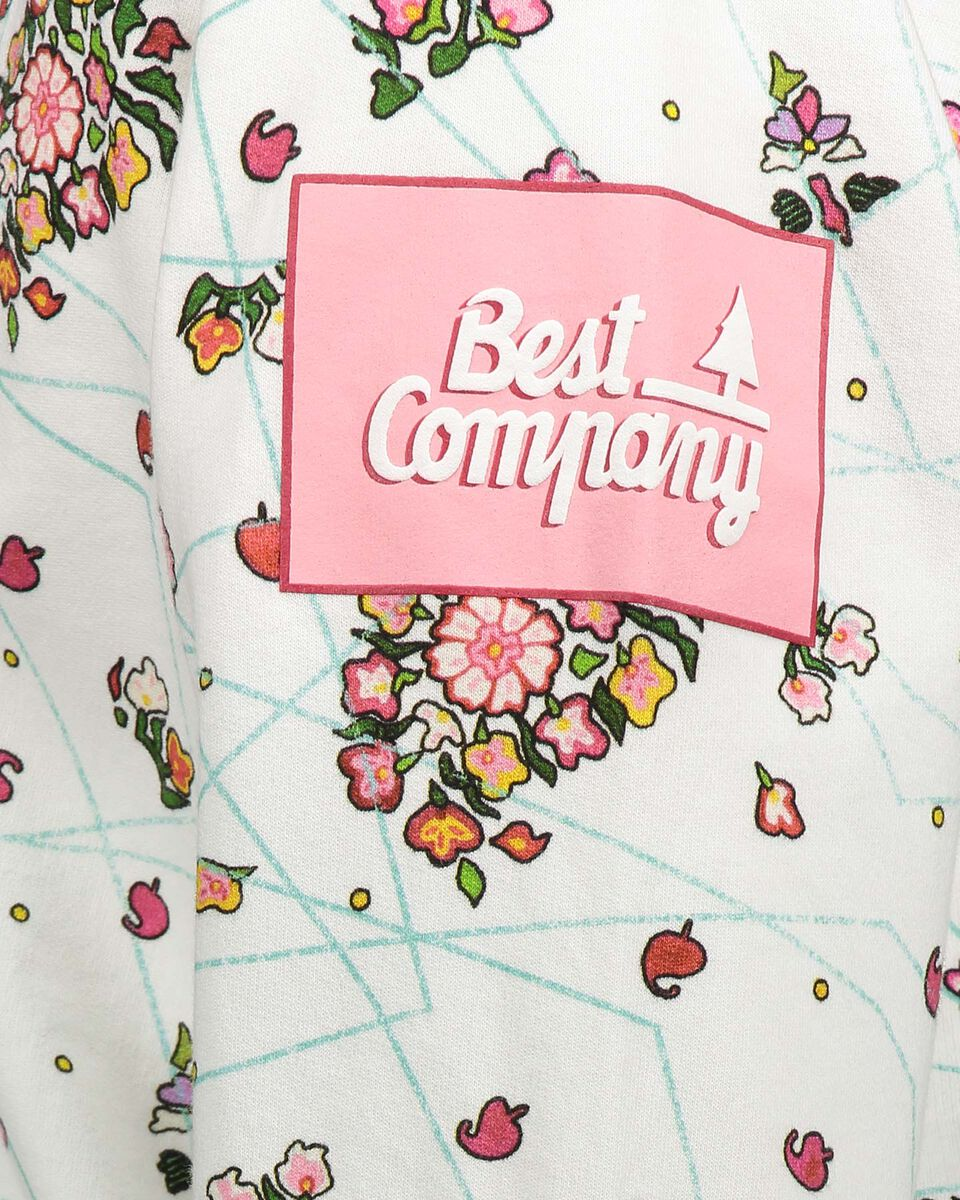 Felpa BEST COMPANY ALLOVER FLOWER W S4064580 scatto 3