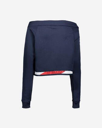 Felpa training TOMMY HILFIGER TAPE W