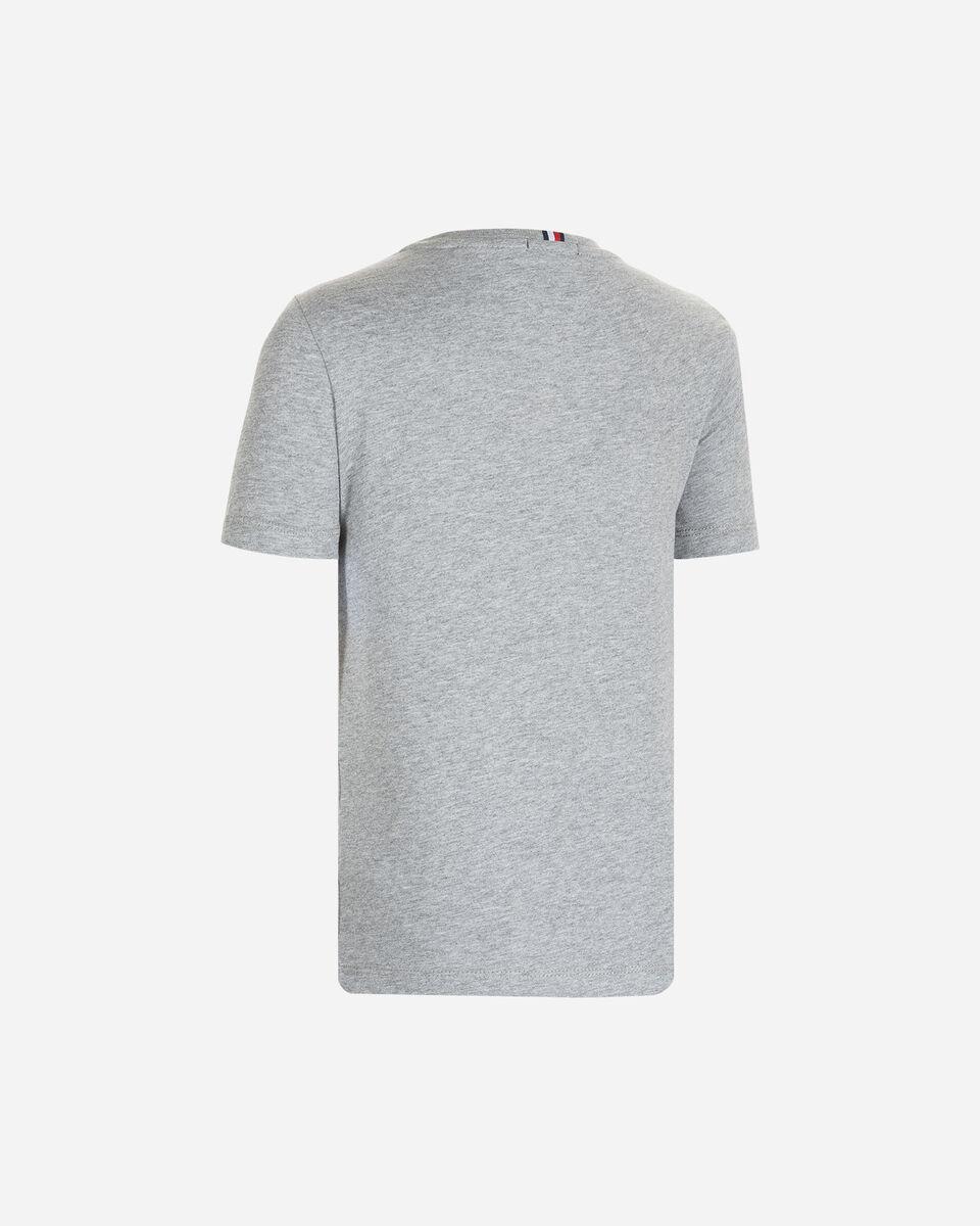 T-Shirt TOMMY HILFIGER LOGO STICKER JR S4083621 scatto 1