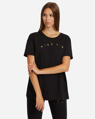 BLACK WEEK donna NIKE JERSEY MC GC LOGO AIR W