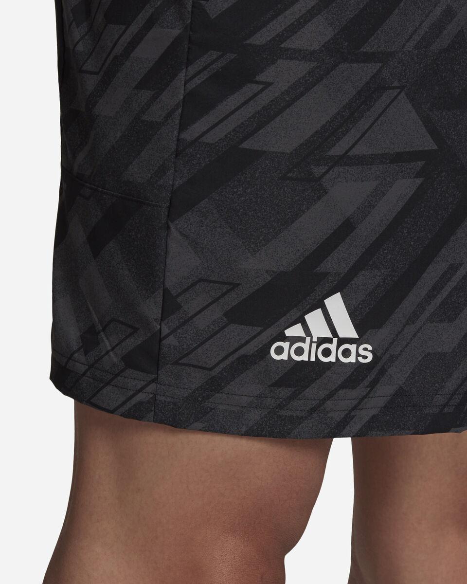 Pantaloncini tennis ADIDAS ERGO PRINTED AEROREADY M S5212238 scatto 5