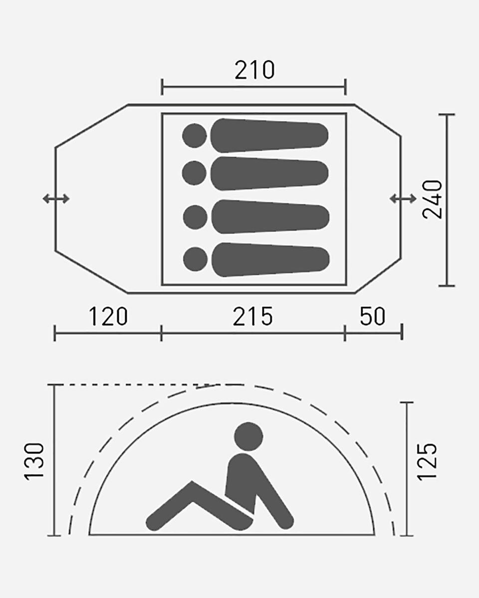 Tenda MCKINLEY CORVARA 4 S1226897|1|UNI scatto 1