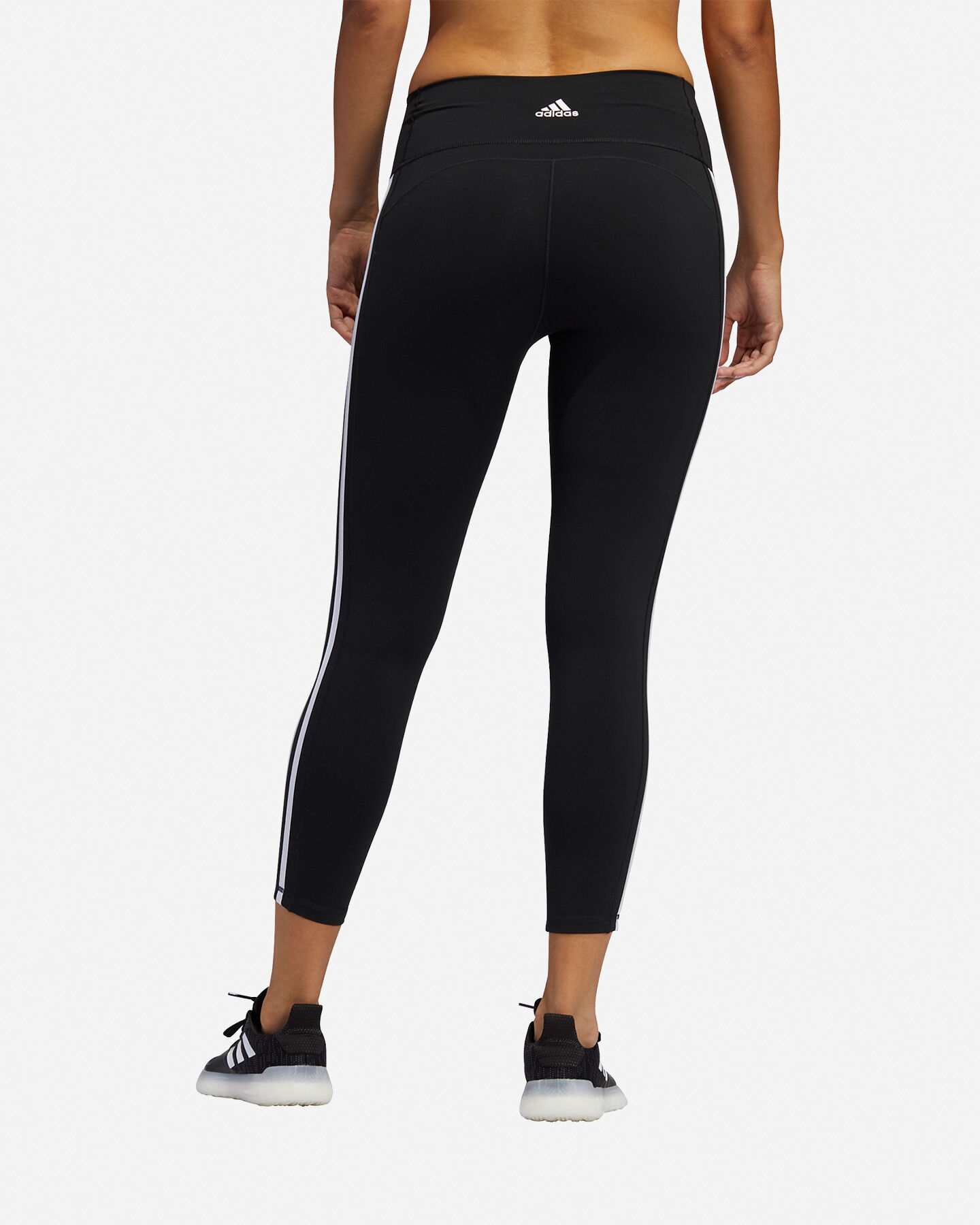 Leggings ADIDAS BELIEVE THIS 2.0 3 STRIPE 7/8 W S5154725 scatto 4