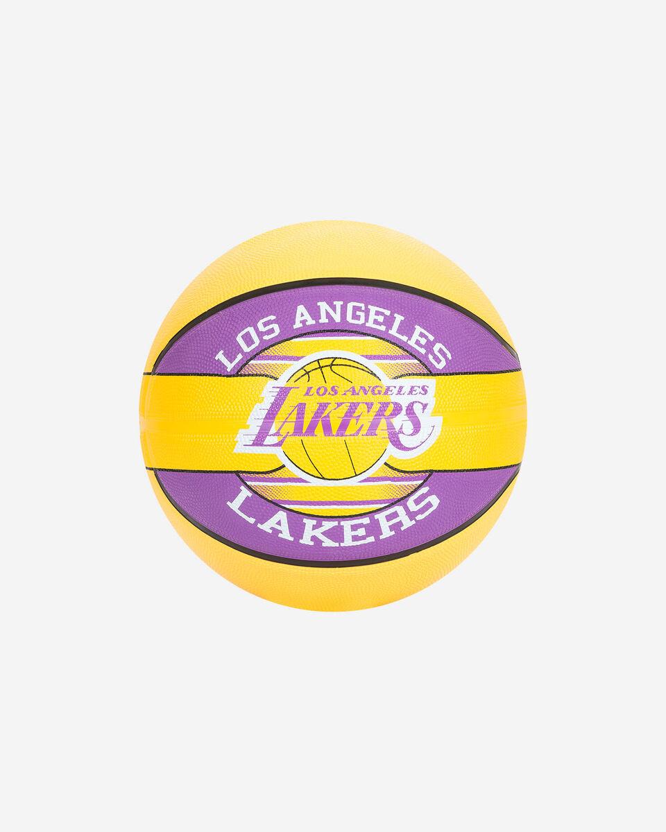 Pallone basket SPALDING LAKERS NBA TEAM SZ.7 S2006559|UNI|UNI scatto 0