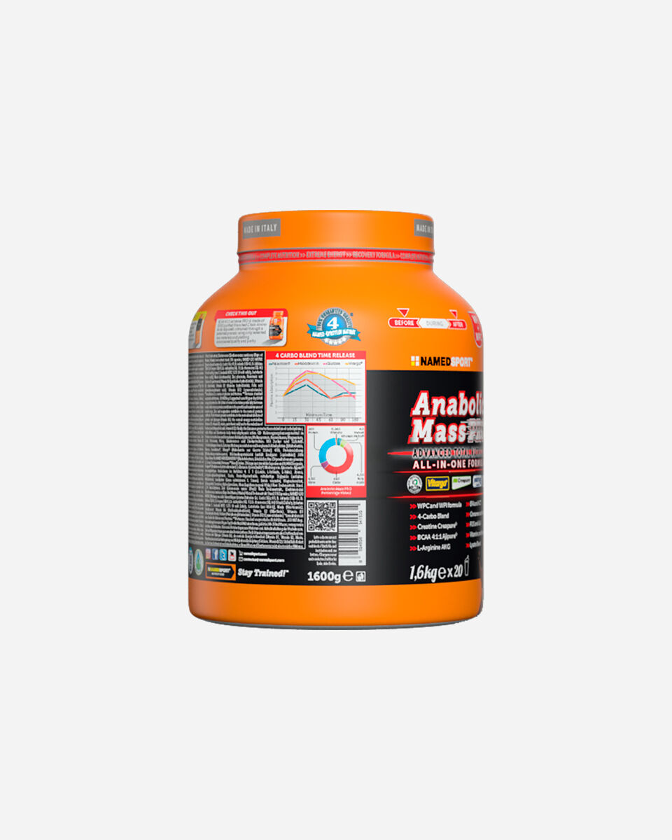 Energetico NAMED SPORT ANABOLIC MASS PRO 1600G S4033470 1 UNI scatto 1
