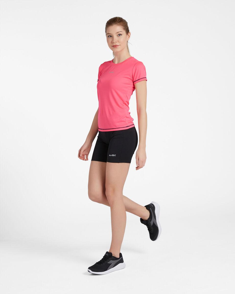 T-Shirt running ABC RUN W S4088091 scatto 3