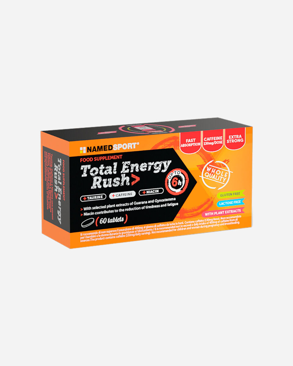 Energetico NAMED SPORT TOTAL ENERGY RUSH 60CPR S1312407 1 UNI scatto 0