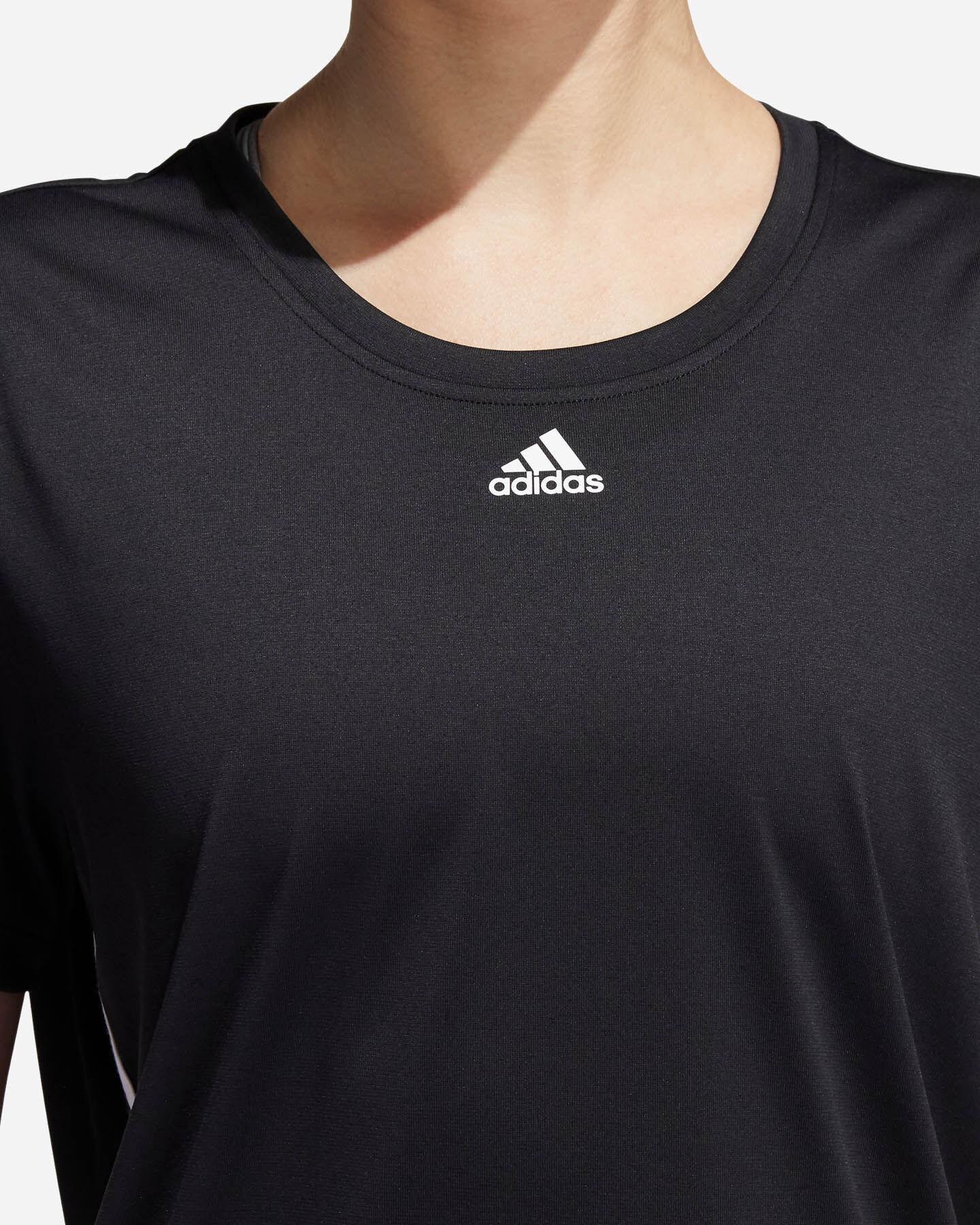 T-Shirt training ADIDAS 3 STRIPES W S5218163 scatto 5