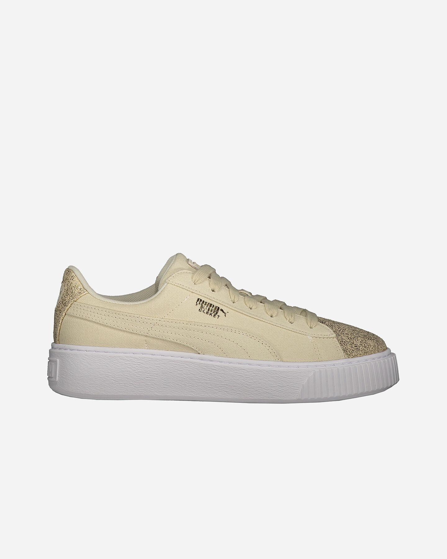 366494 Su Puma Scarpe 001 W Basket Sneakers Platform Canvas 8BBIUq