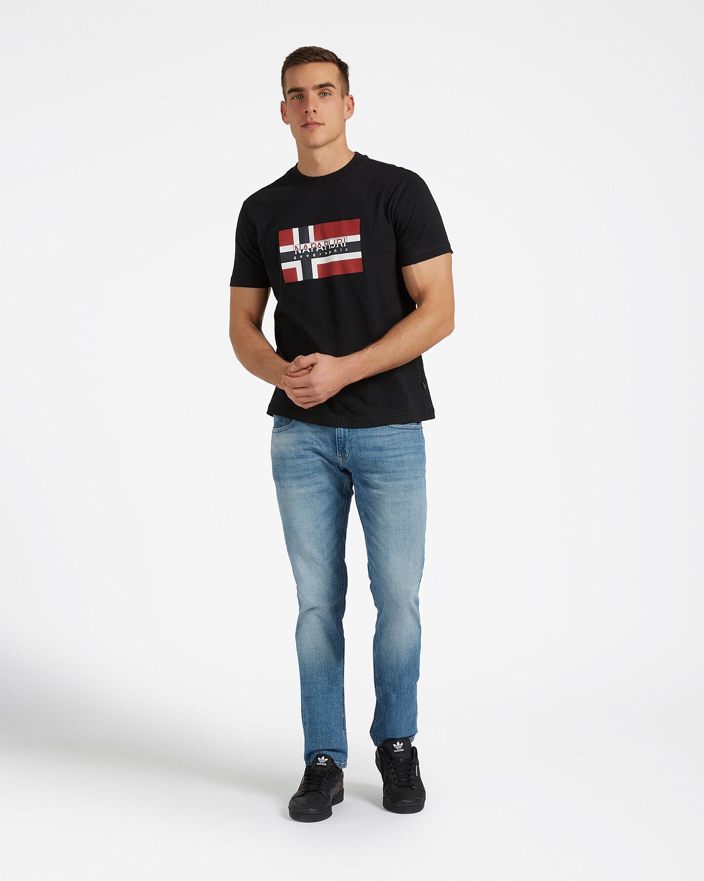 T-Shirt NAPAPIJRI SOVICO M S4077612 scatto 1