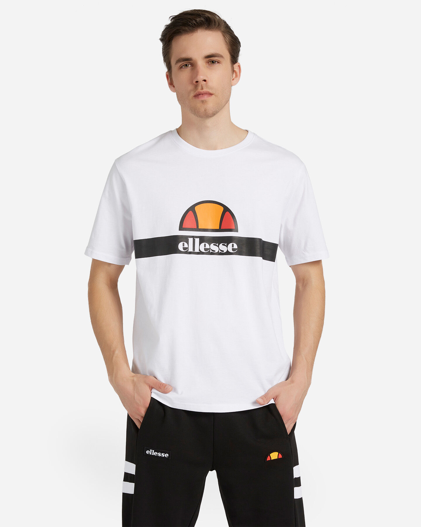 T-Shirt ELLESSE LOGO CENTRAL M S4088417 scatto 0