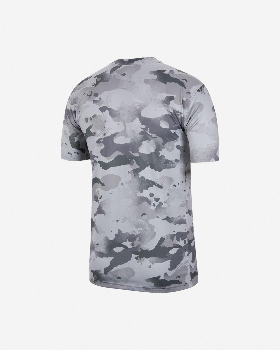 T-Shirt training NIKE DRY CAMO M S5225716 scatto 1