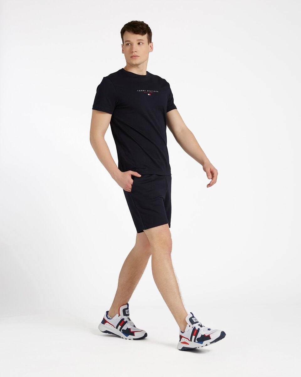 T-Shirt TOMMY HILFIGER ESSENTIAL M S4089510 scatto 3