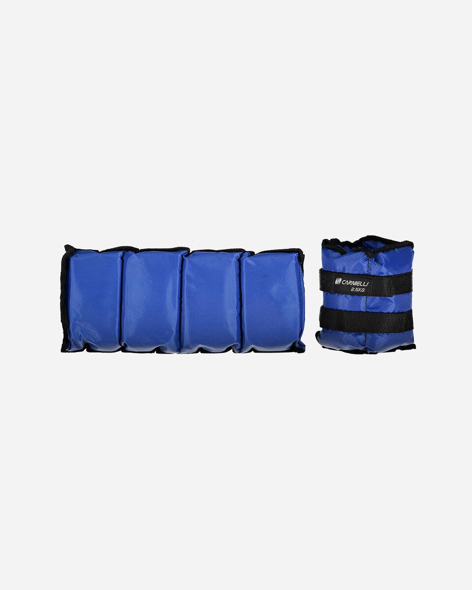 Accessorio palestra CARNIELLI CAVIGLIERE 2,5 KG S1328749|1|UNI scatto 0