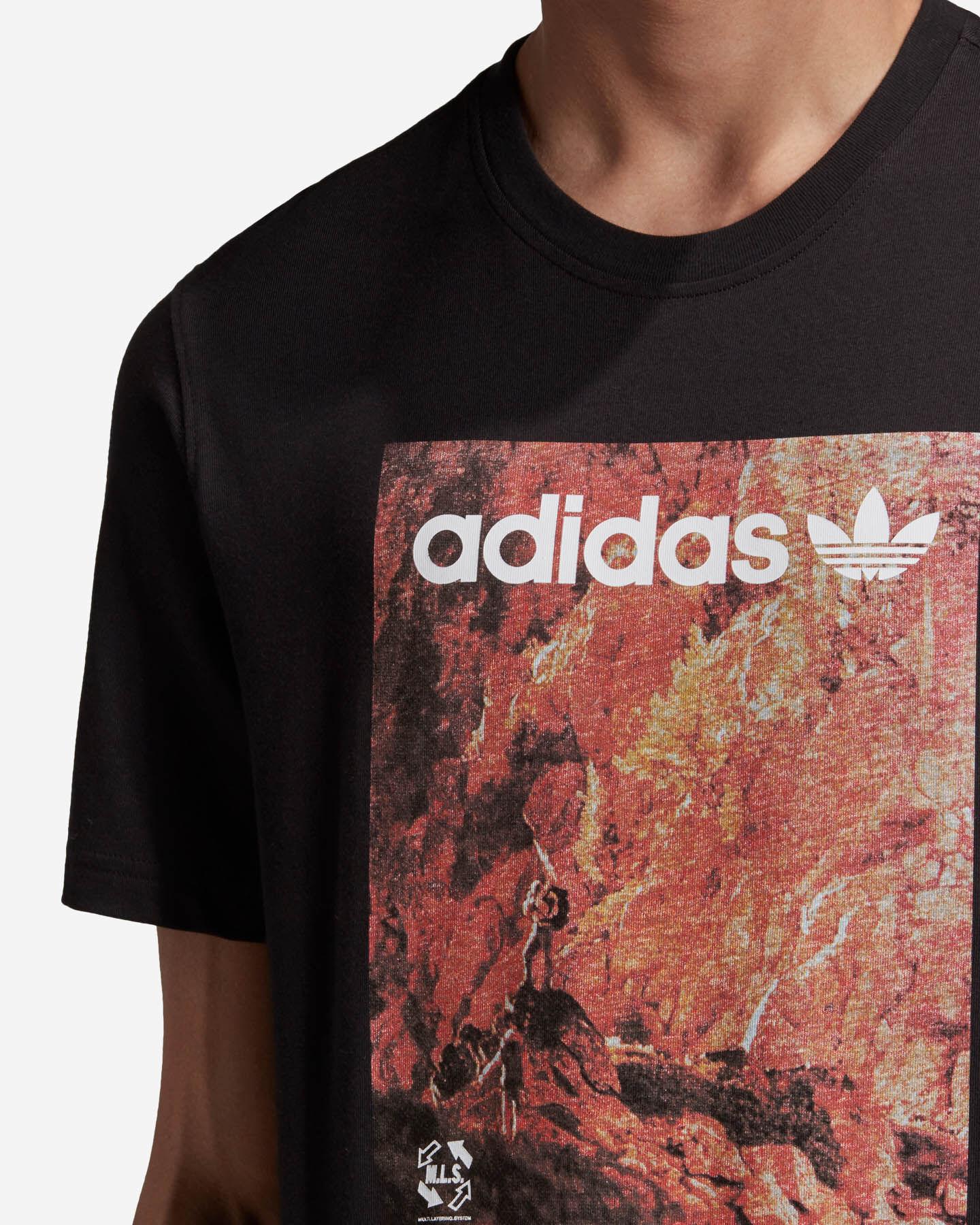 T-Shirt ADIDAS ADVENTURE M S5210691 scatto 6