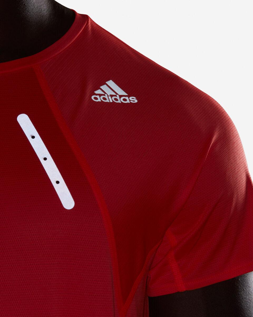 T-Shirt running ADIDAS HEAT.RDY M S5154890 scatto 5