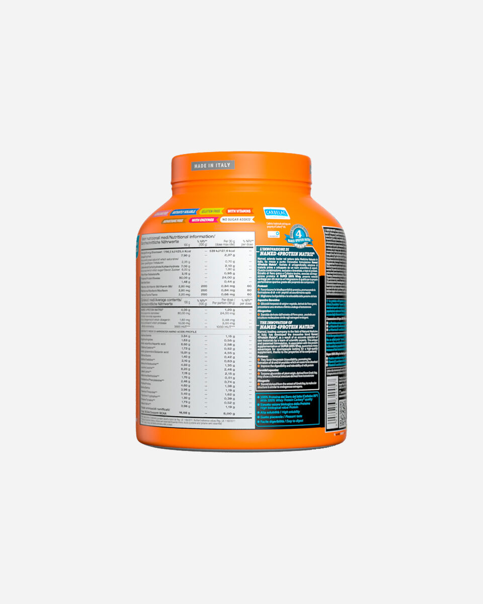 Energetico NAMED SPORT SUPER 100% WHEY SMOOTH CHOCOLATE 908G S1308870 scatto 4