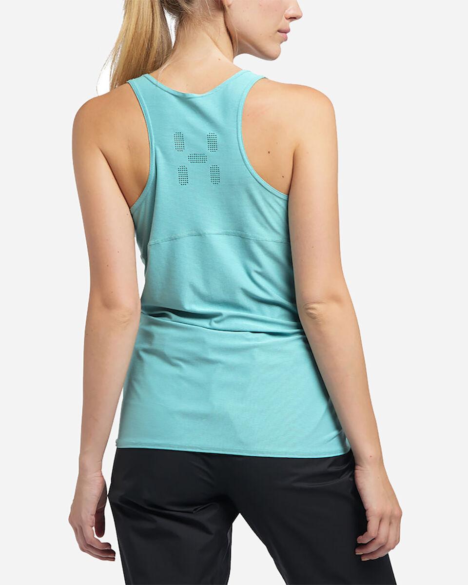 T-Shirt HAGLOFS LIM TECH Q  W S4077116 scatto 4