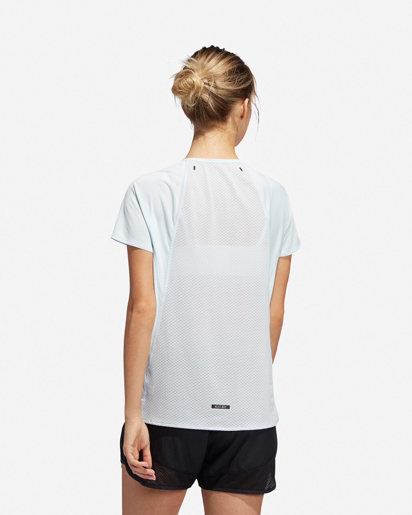 T-Shirt running ADIDAS HEAT.RDY W S5154889 scatto 4