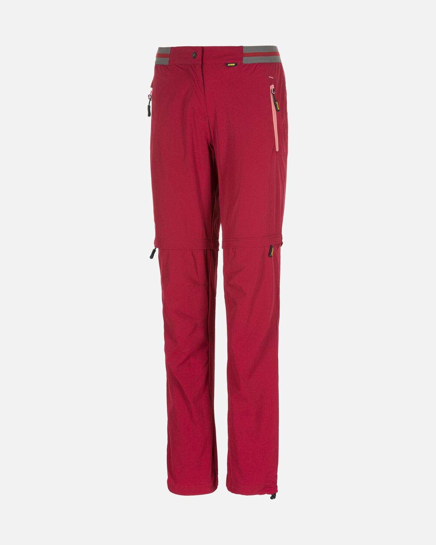 Pantalone outdoor ANDE  BADIA ZIP OFF W S4084785 scatto 0