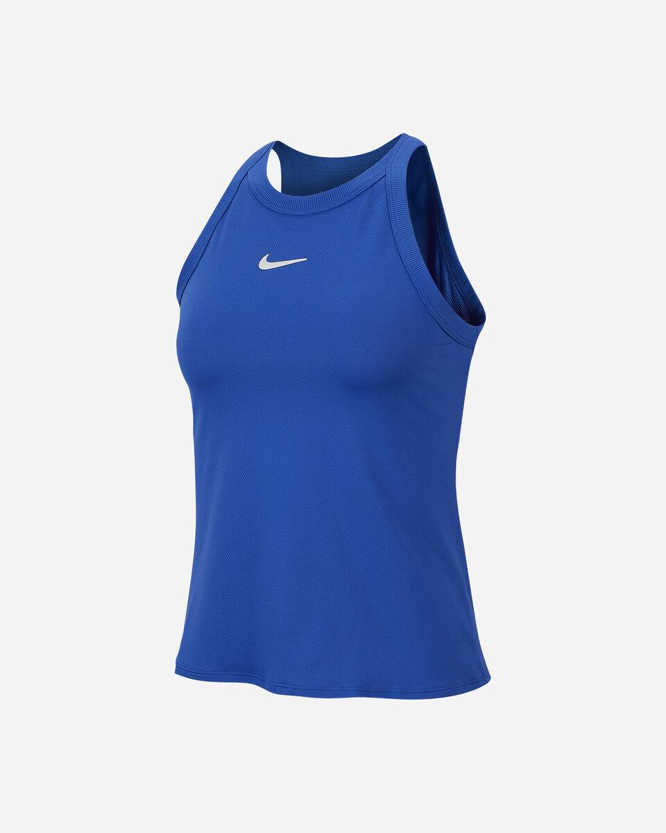 T-Shirt tennis NIKE COURT DRI-FIT W S5138105 scatto 0