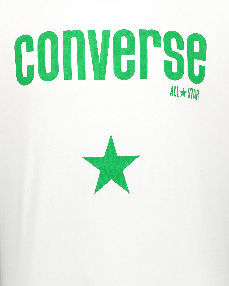T-Shirt CONVERSE CORE LOGO M S5180965 scatto 2