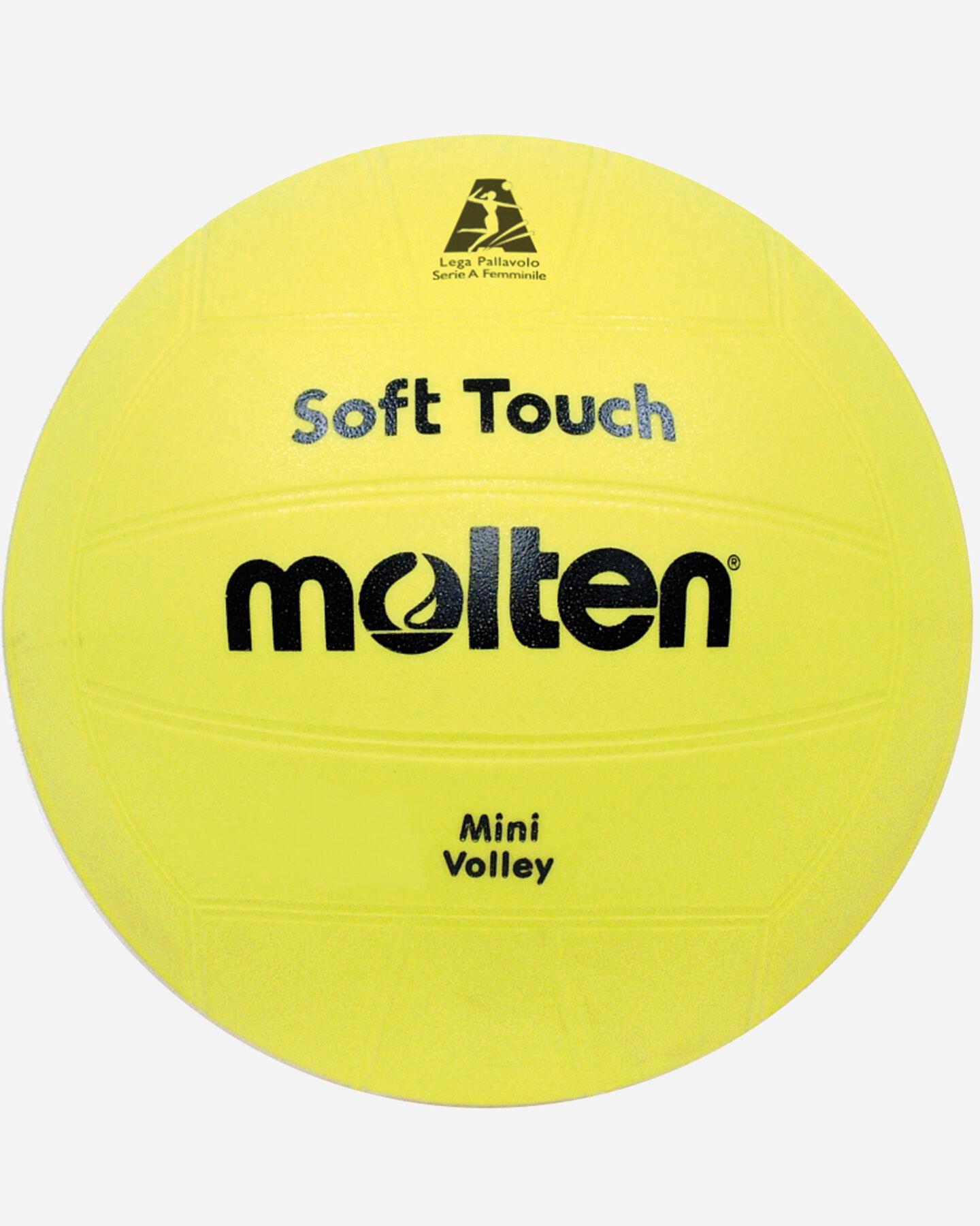 Pallone volley MOLTEN MINIVOLLEY SOFT TOUCH S0104212 9999 UNI scatto 1