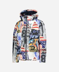 TOMMY JEANS uomo TOMMY HILFIGER PATTERNED FLAG M
