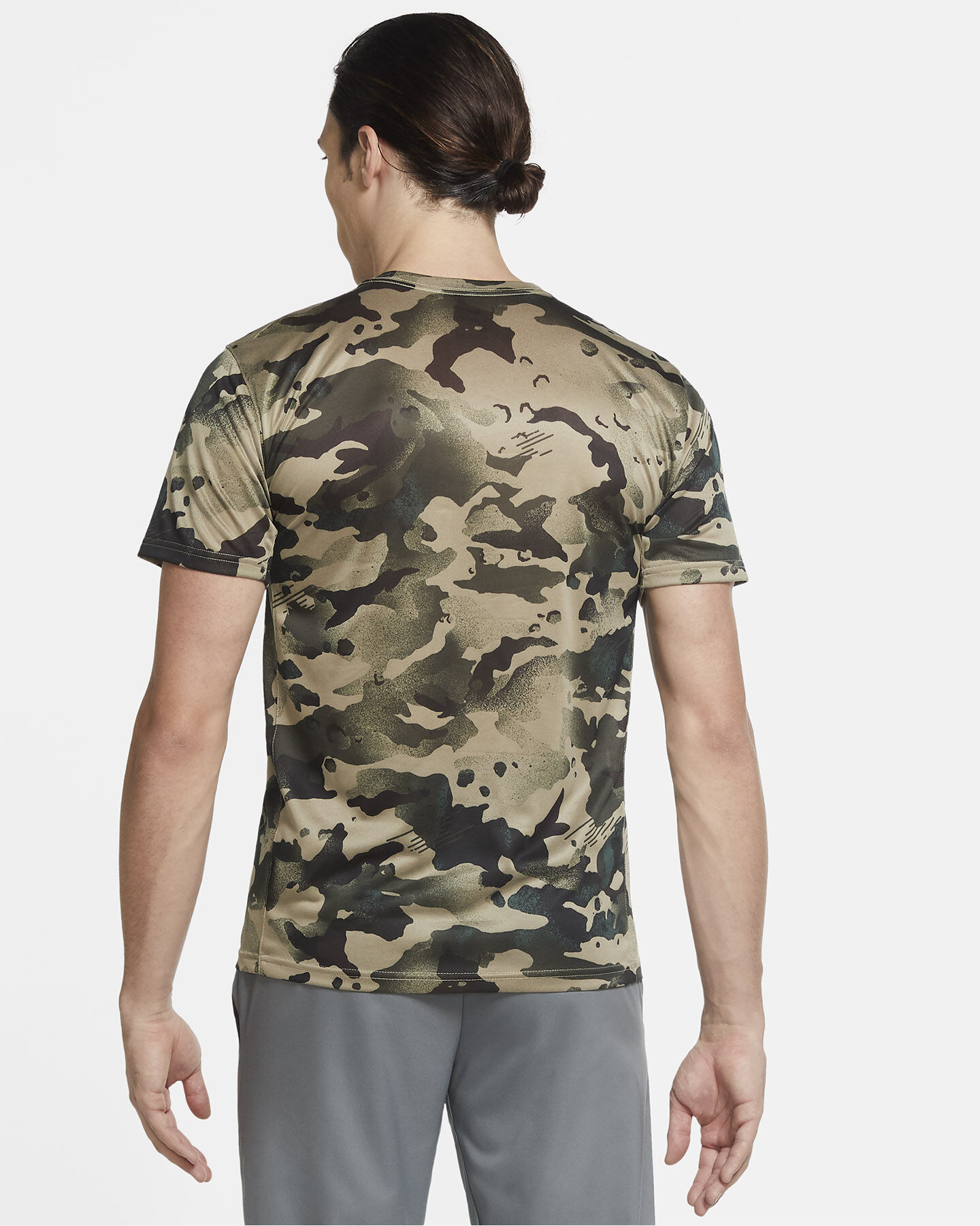 T-Shirt training NIKE DRY M S5225717 scatto 3