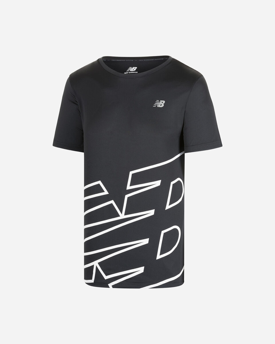 T-Shirt running NEW BALANCE PRINTED ACCELERATE M S5166433 scatto 0