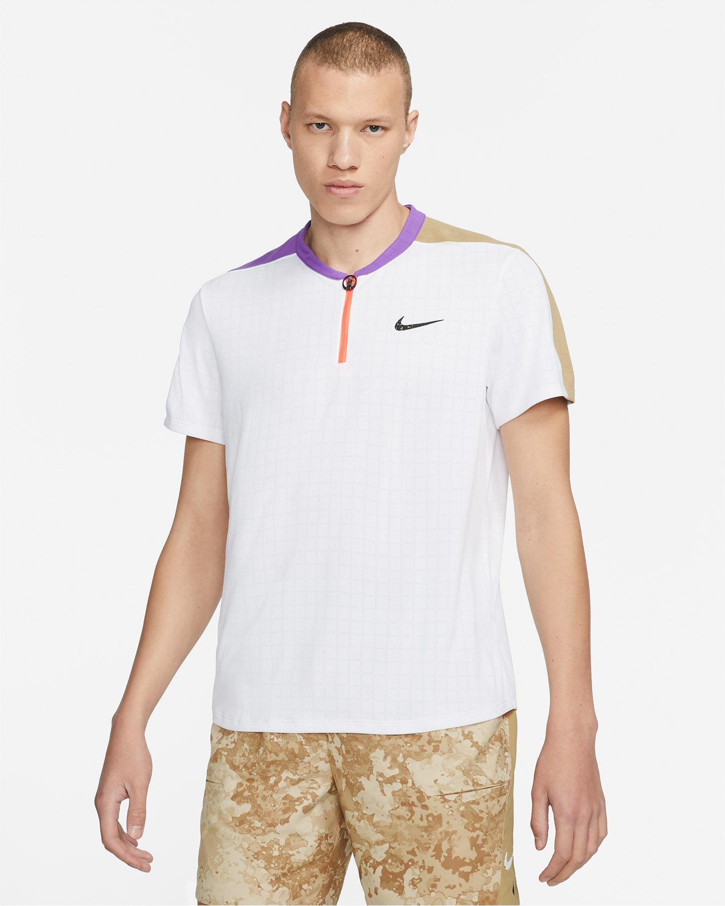Polo tennis NIKE BREATHE SLAM M S5268886 scatto 0