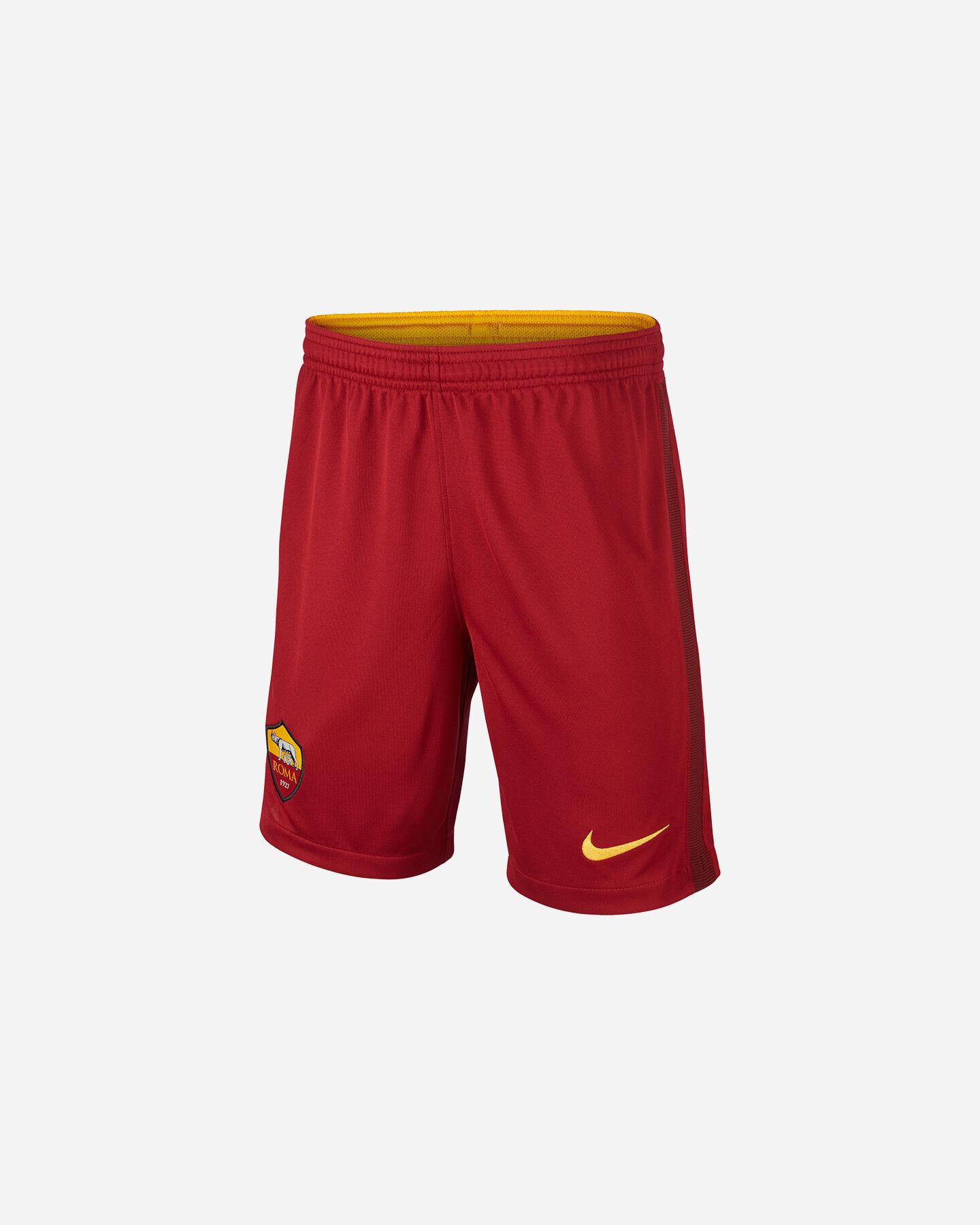 Pantaloncini calcio NIKE AS ROMA HOME 20-21 JR S5195476 scatto 0