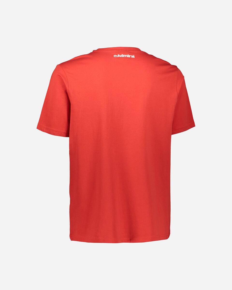 T-Shirt ADMIRAL SMALL LOGO M S4086970 scatto 1