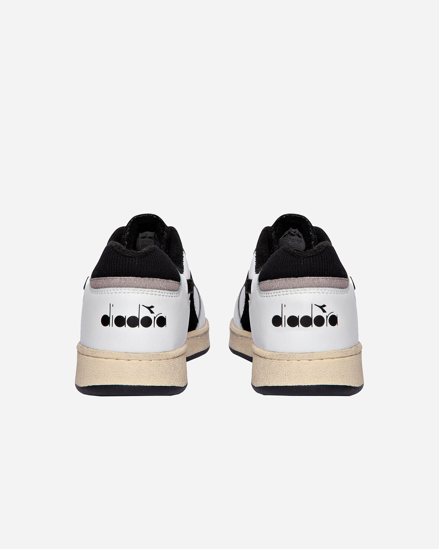 Scarpe sneakers DIADORA USED BASKET LOW M S5171197 scatto 4