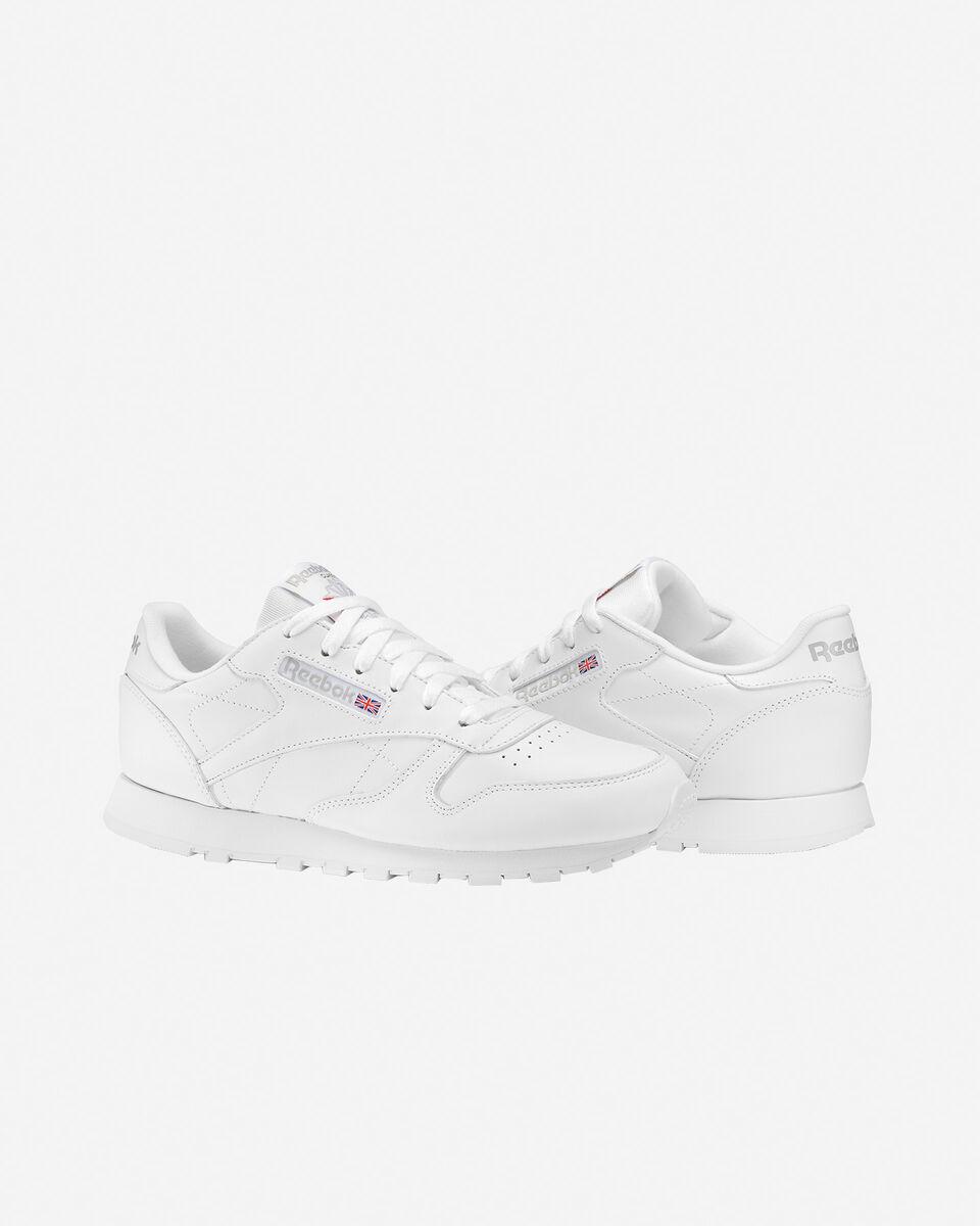 Scarpe sneakers REEBOK CLASSIC LEATHER W S0295672 scatto 1