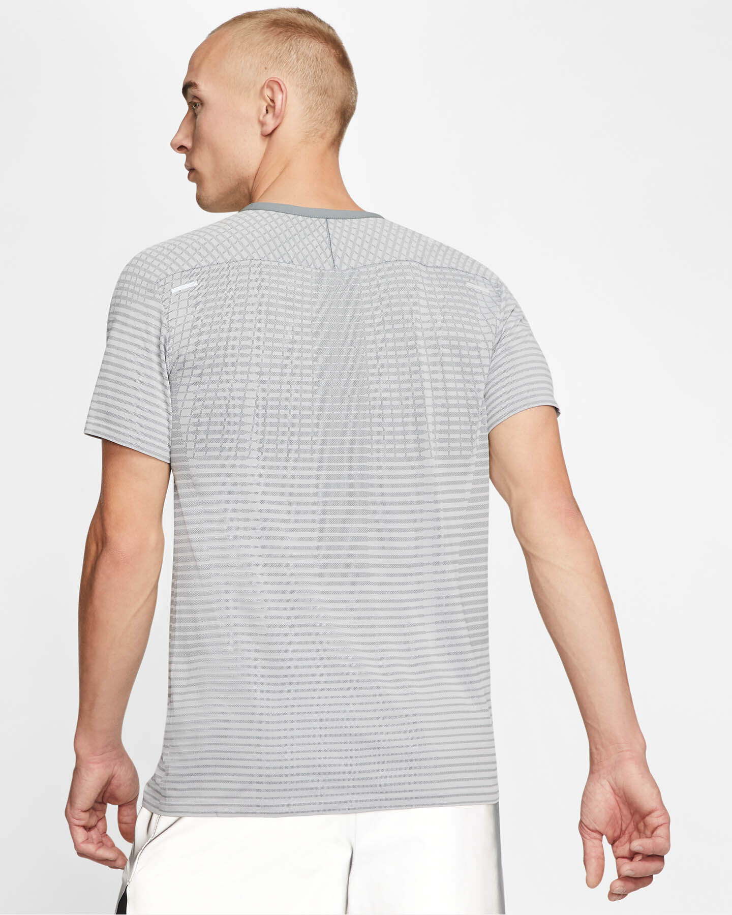T-Shirt running NIKE TECHKNIT ULTRA M S5173310 scatto 3