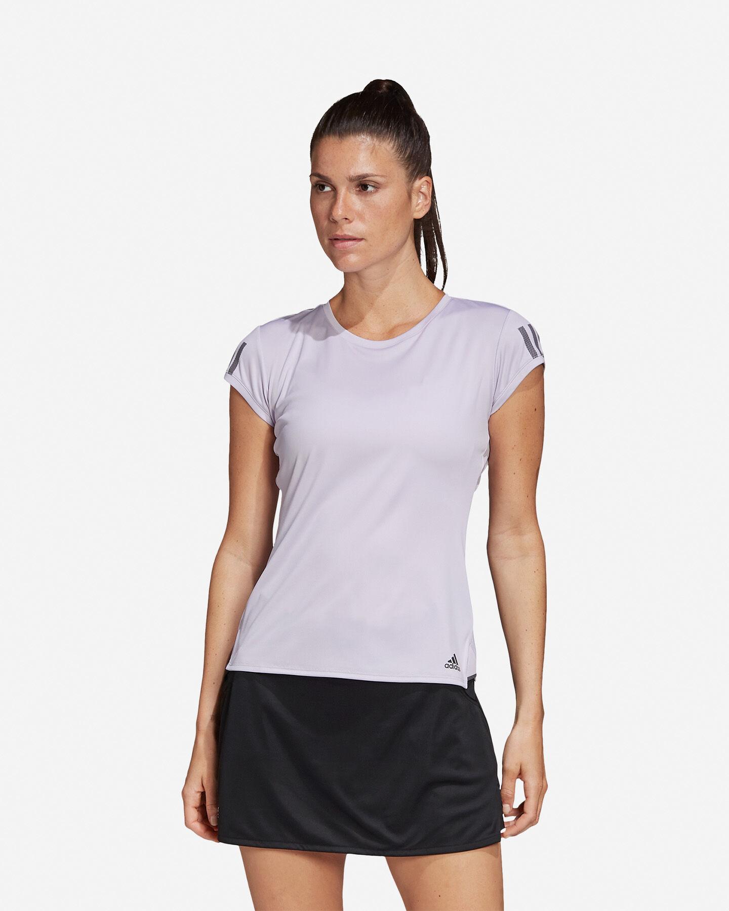 T-Shirt tennis ADIDAS 3-STRIPES CLUB W S5155173 scatto 2