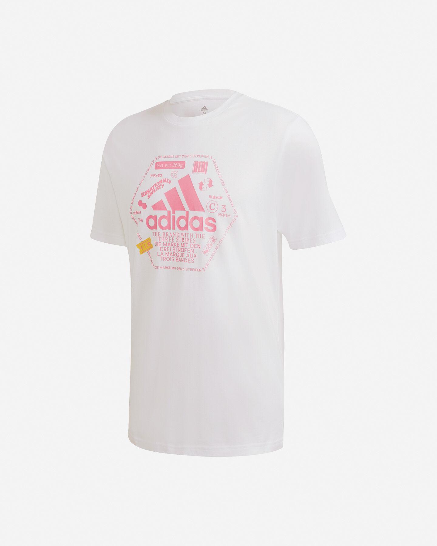 T-Shirt ADIDAS URBAN BIG LOGO M S5211985 scatto 0
