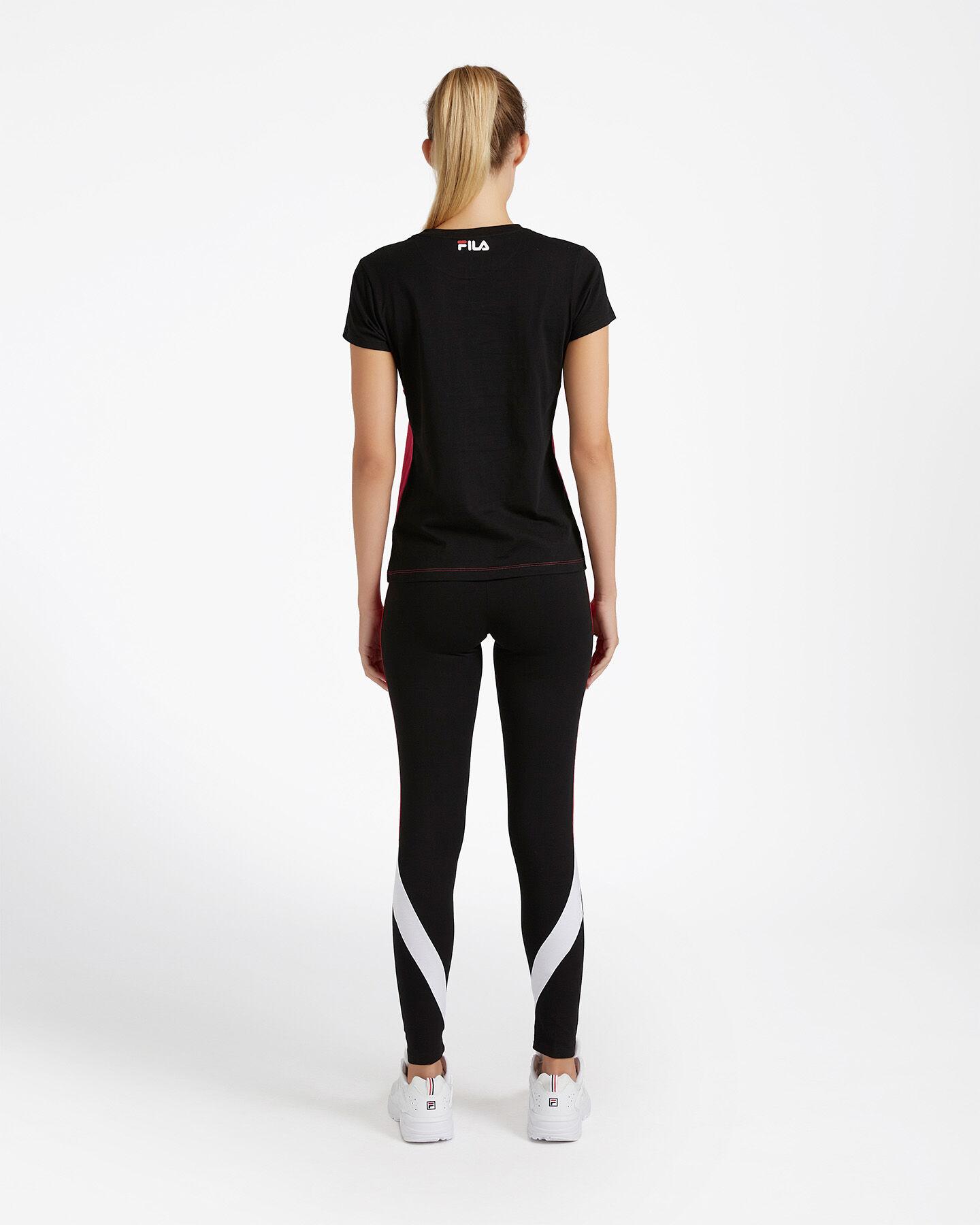 T-Shirt FILA REGULAR COLOR BLOCK W S4080534 scatto 2