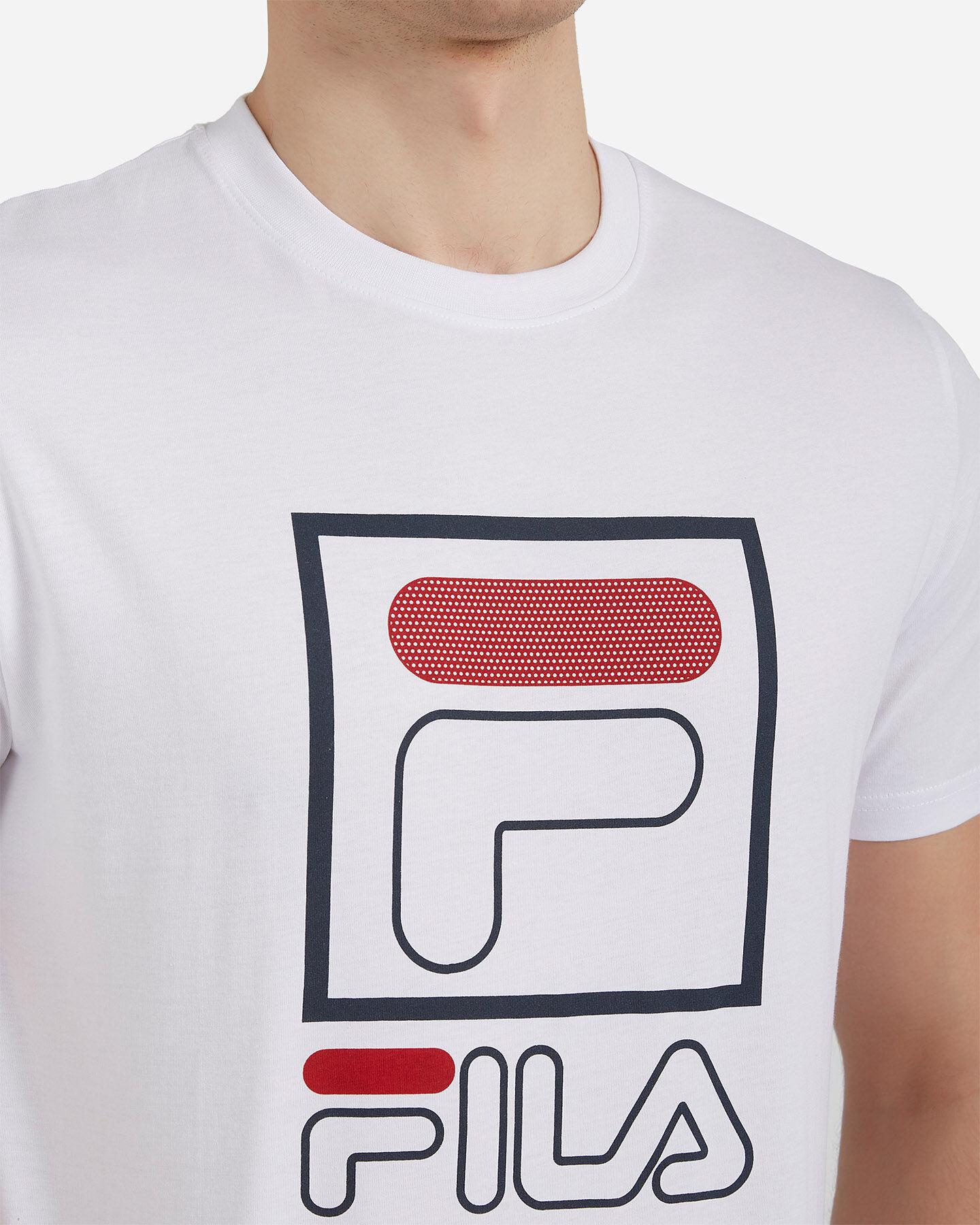 T-Shirt FILA LOGO VINTAGE M S4073889 scatto 4